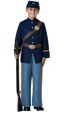 Kid Civil War Soldier Costume
