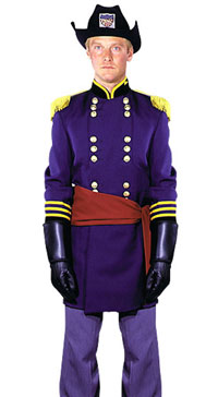 Deluxe Union Officer Costume