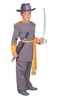 Confederate Soldier Halloween Costume