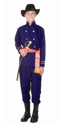 Teen Civil War Soldier Union Costume